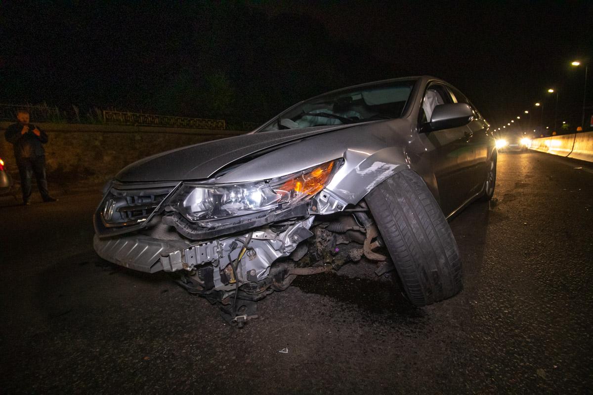 ВодительHonda находился в состоянии алкогольного опьянения