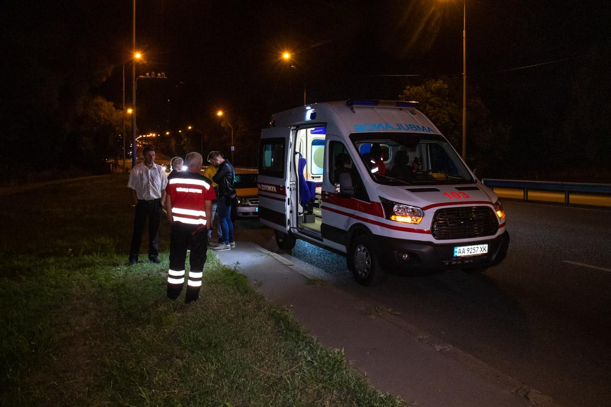 Также в аварии пострадала девушка-пассажирMazda