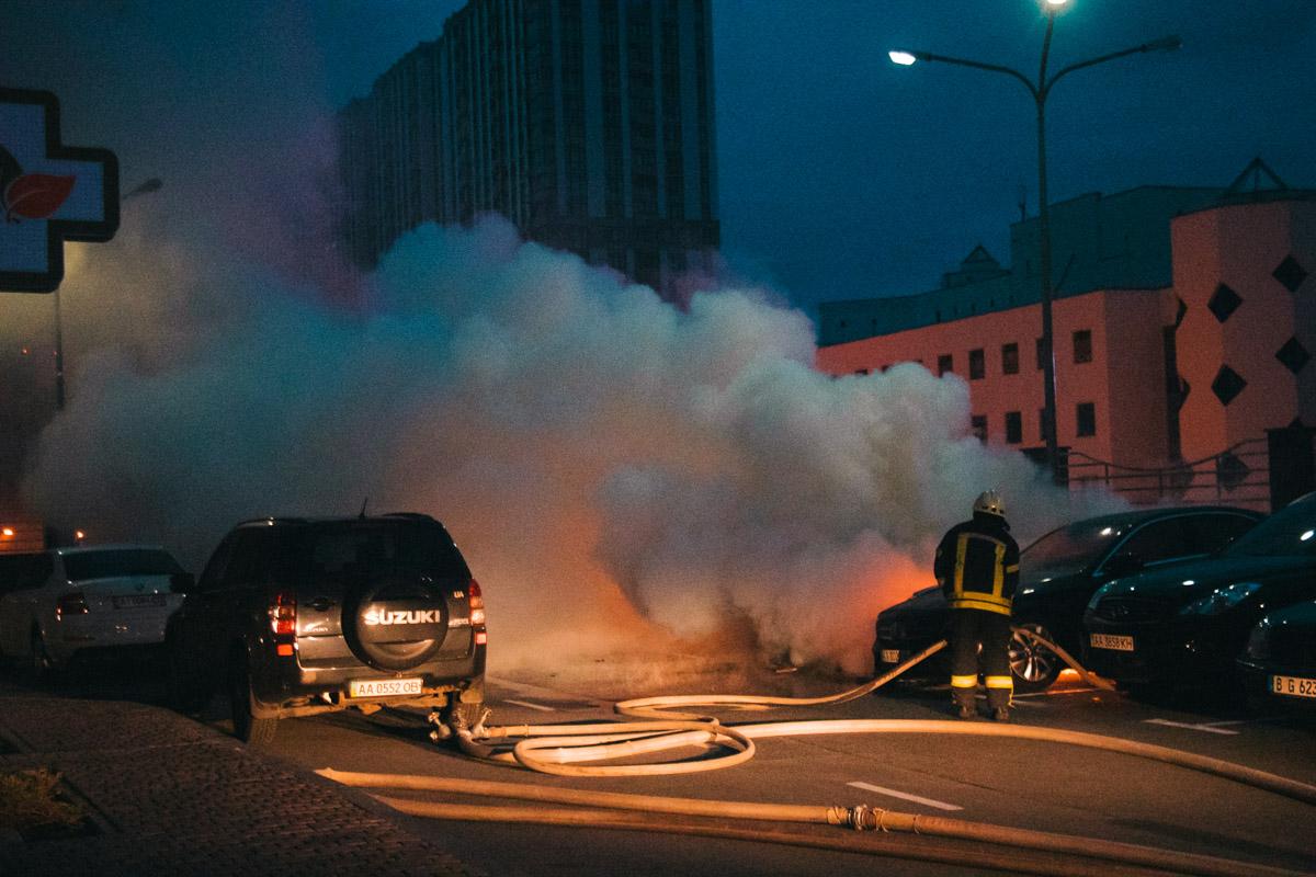 Пожарные незамедлительно ликвидировали возгорание