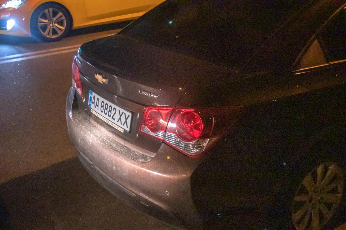 За рулем которого, по сообщениям очевидцев, находился пьяный мужчина