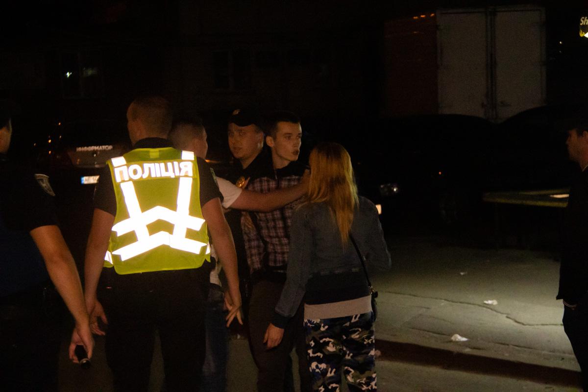Полиция задержала одного из подозреваемых в драке