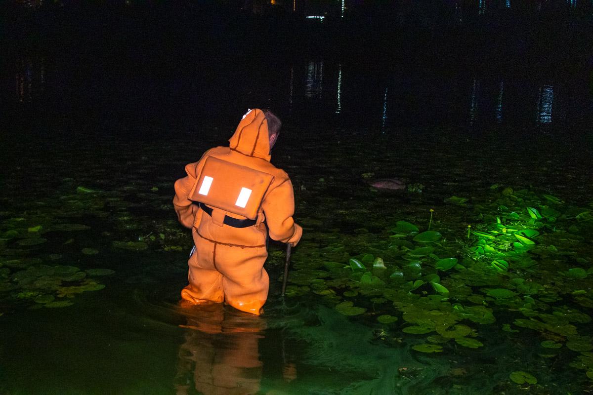 Тело находилось на расстоянии пяти метров от берега