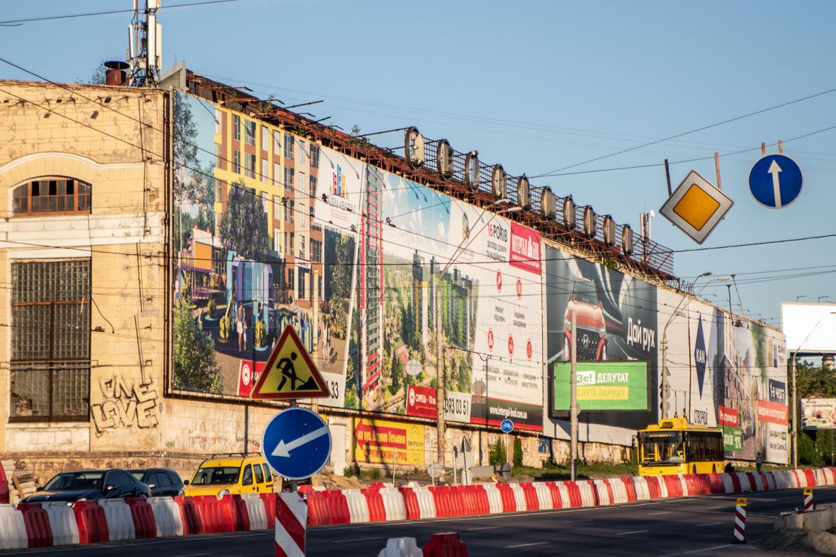 На месте пятого цеха завода должны построить один из съездов с нового моста