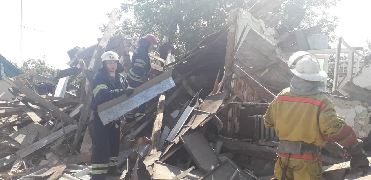 Под Киевом в селе Сеньковка произошел взрыв в жилом доме