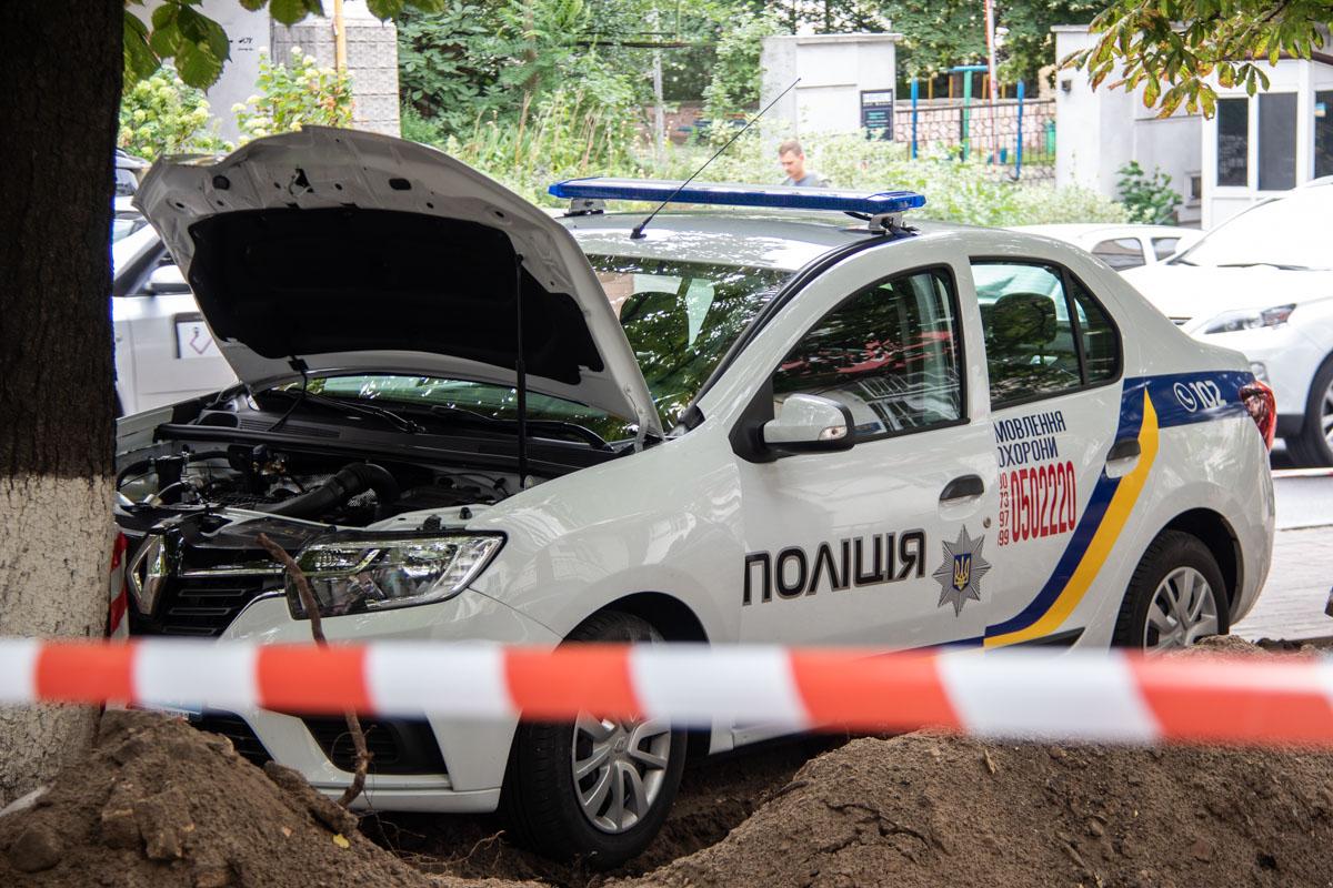 Машина принадлежит государственной охране