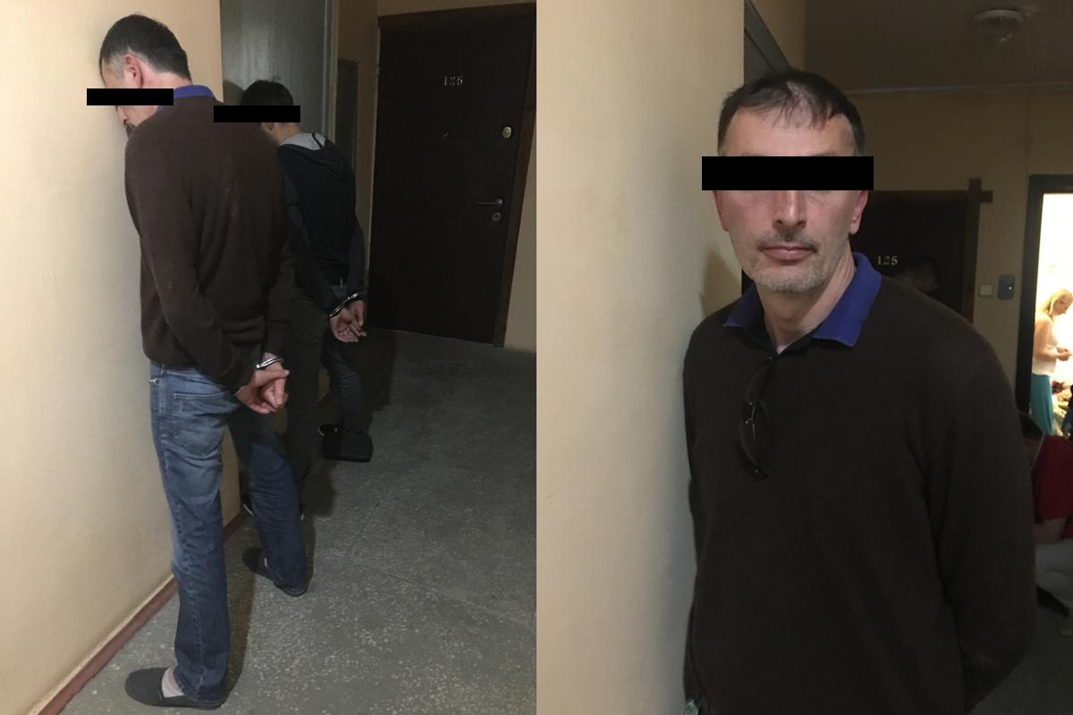 Еще двоих подозреваемых патрульные нашли на чердаке жилого дома