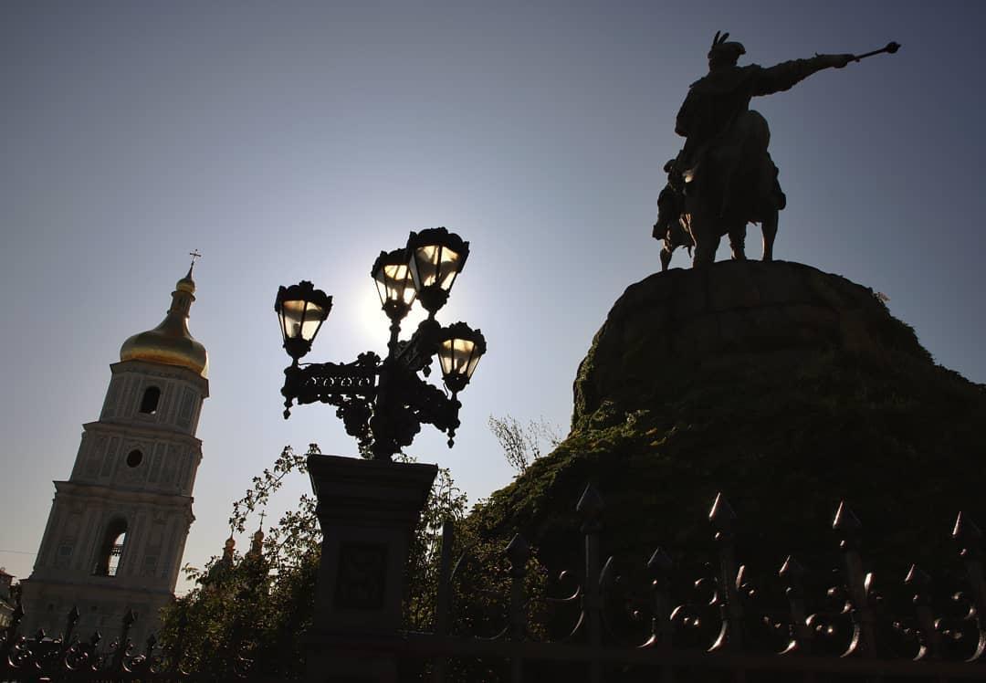 Согласитесь, что Софийская площадь - это визитная карточка Киева. Фото: @photographer.verbova