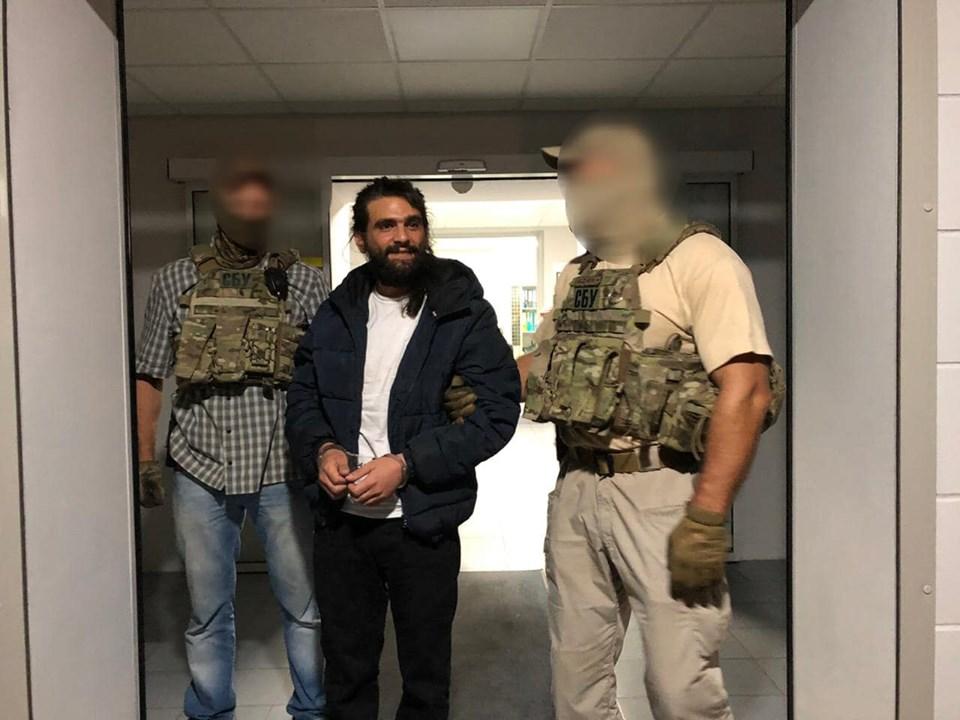 """Гражданин США Амос Дов Сильвер, задержан после побега из аэропорта """"Борисполь"""""""