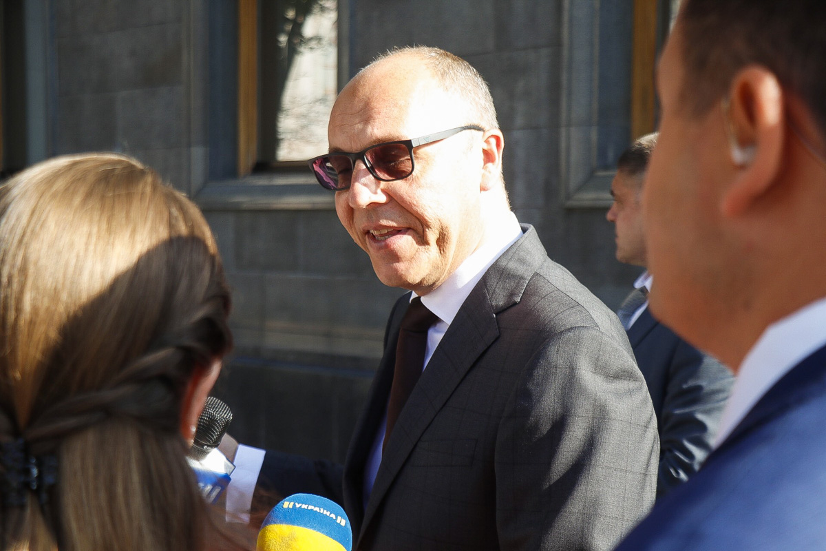 Андрей Парубий - спикер Рады IIX созыва