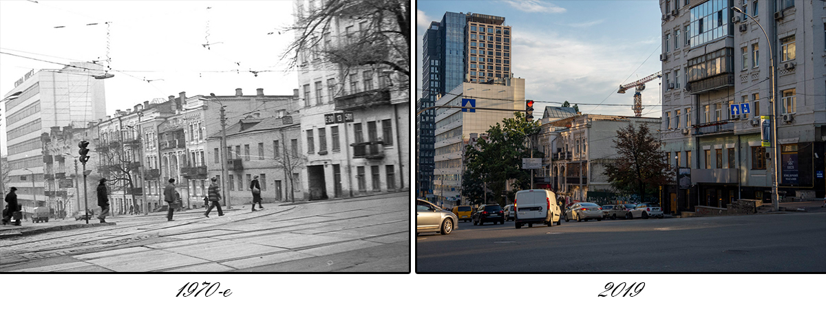 Сейчас улица Антоновича выглядит более оживленной