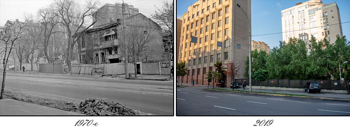 На месте заброшенного дома теперь выросли многоэтажки