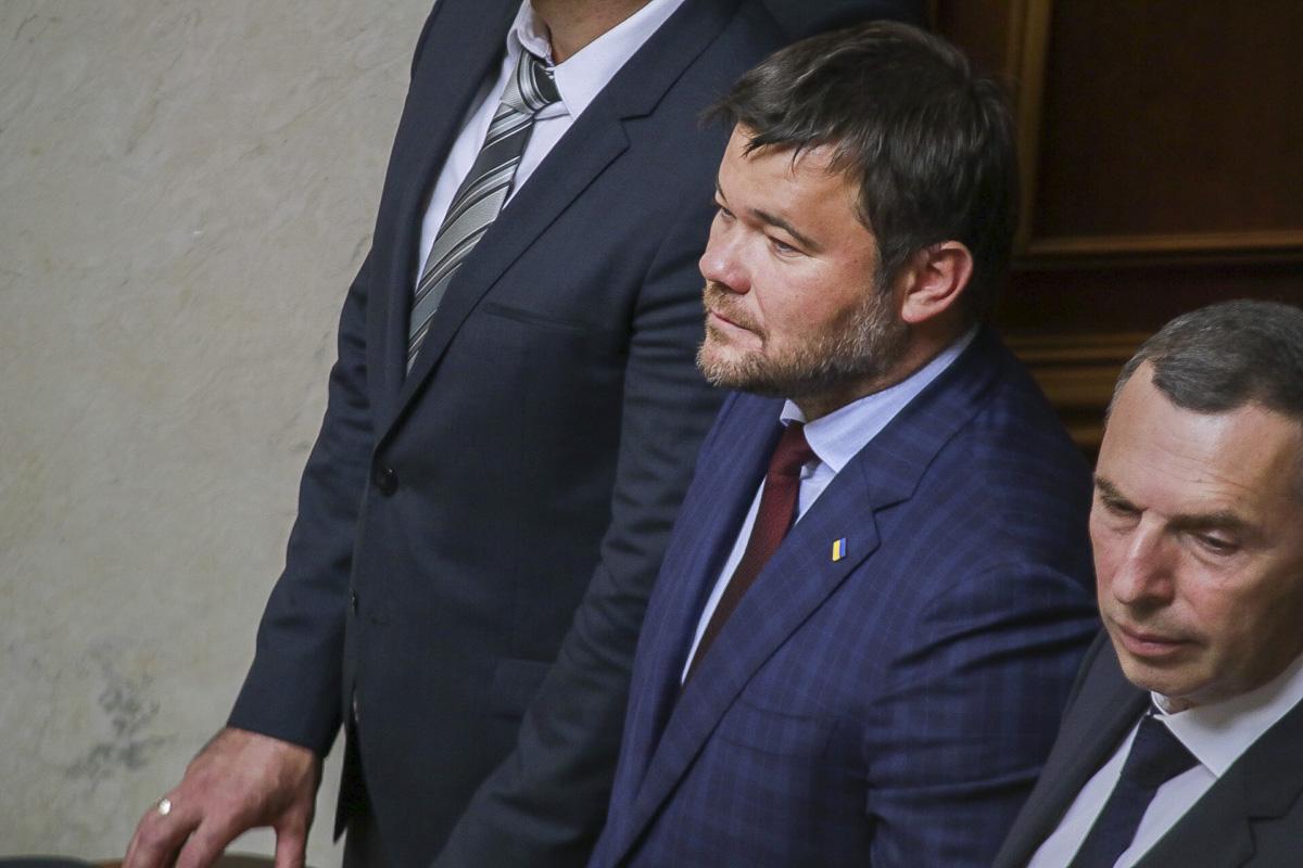 В ложе рядом с президентами сидит глава Офиса Президента Андрей Богдан