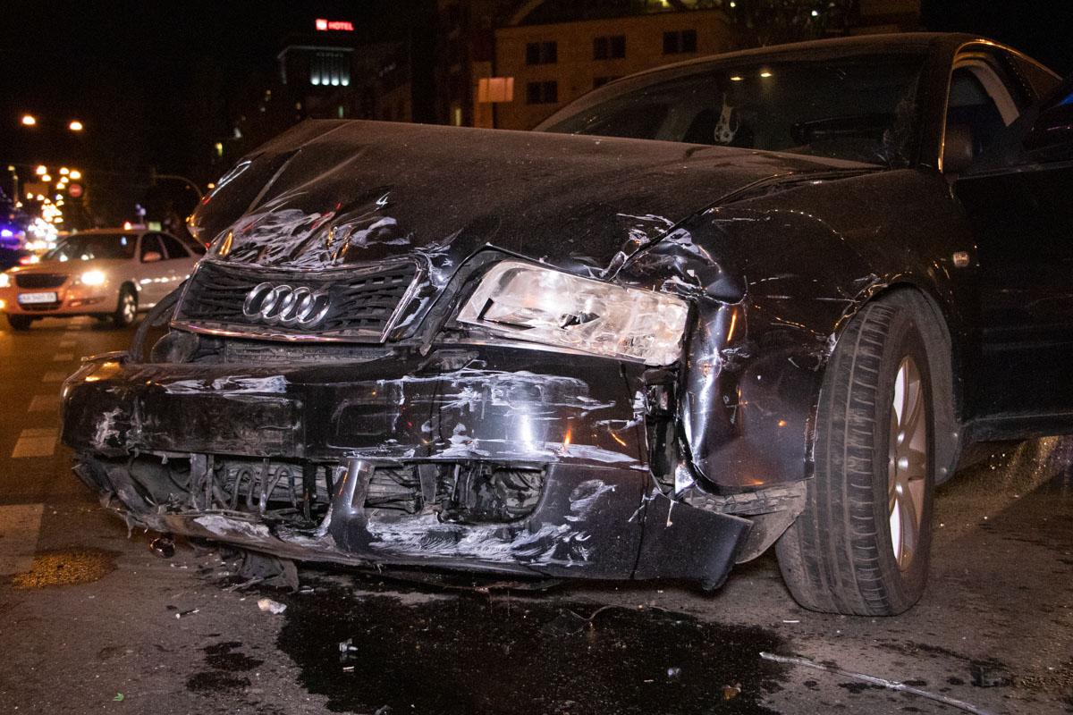 """Audi влетел в ВАЗ, который не предоставил преимущества при движении """"немцу"""""""