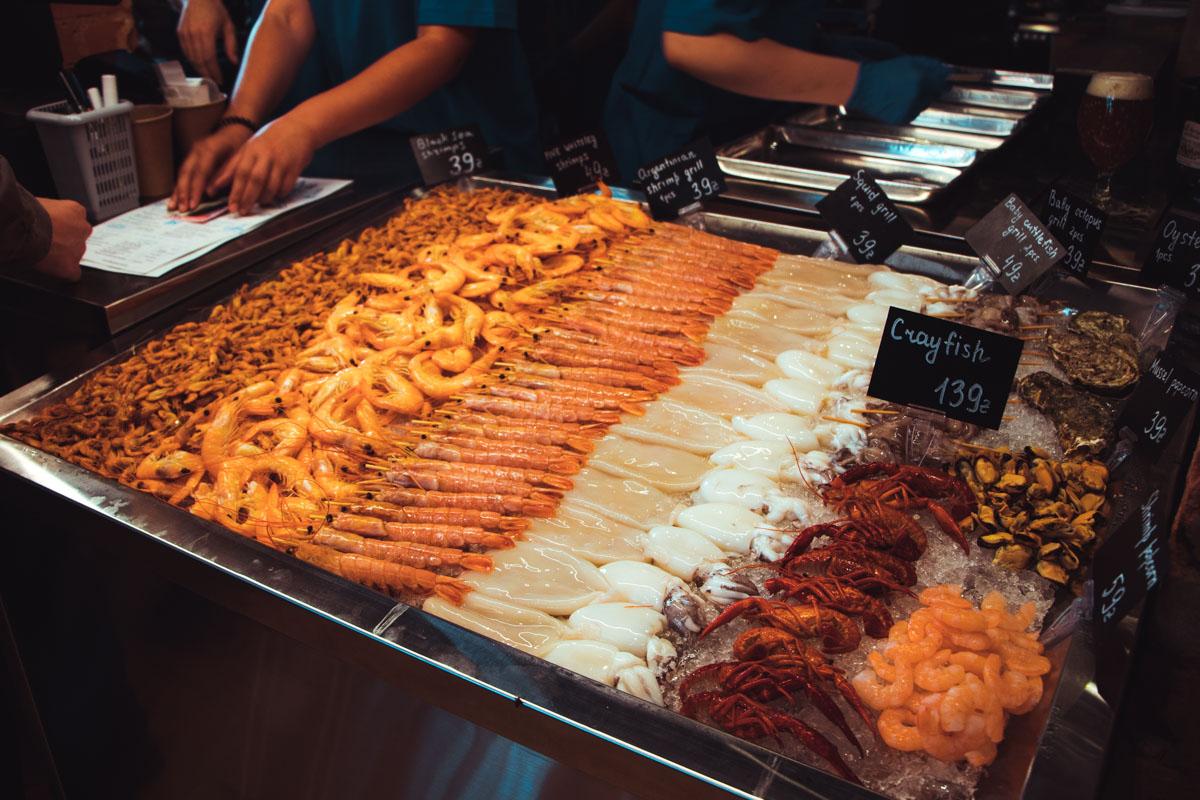 Рай для любителей морепродуктов