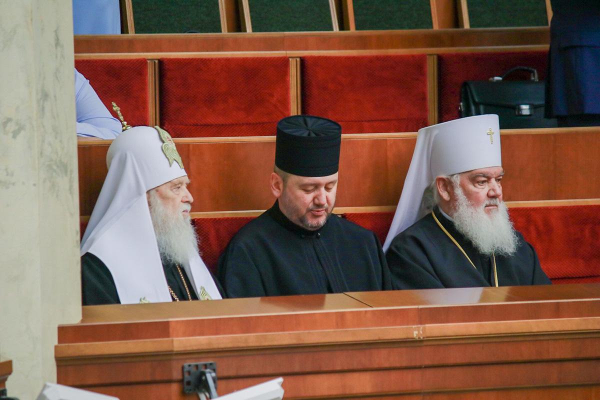 Святейший Патриарх Филарет, и Глава ПЦУ Епифаний