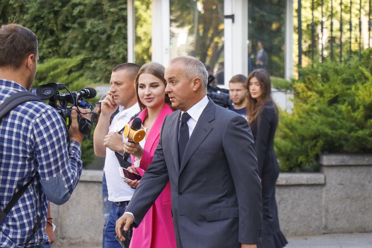 Нестор Шуфрич тоже приехал на первое заседание