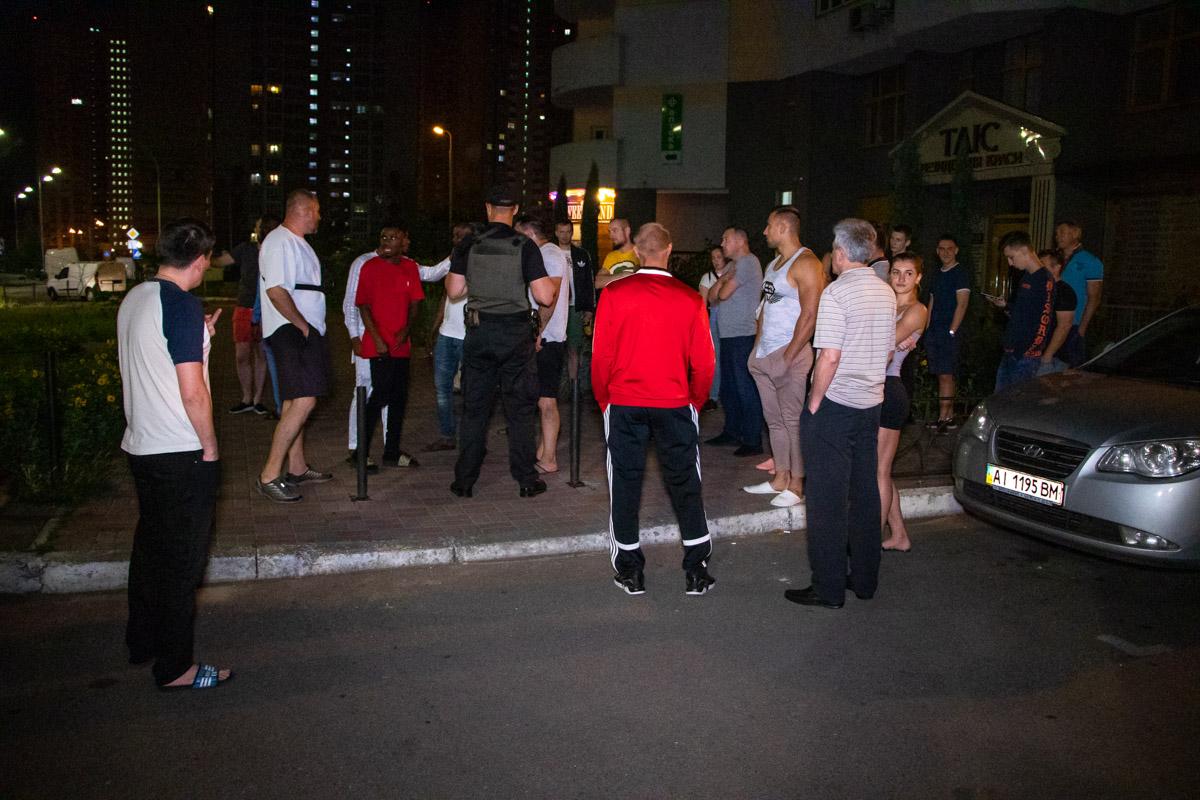На улице Гмыри между афроамериканцами и местными жителями началась драка