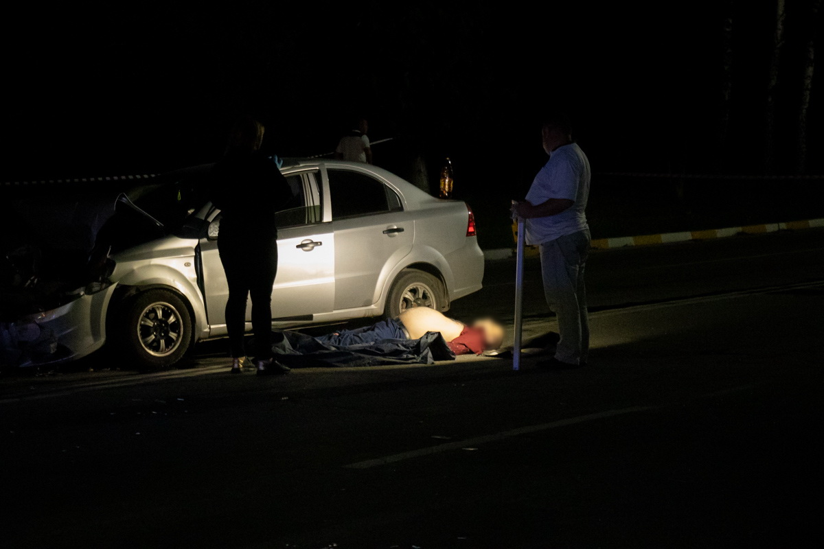 К сожалению, в результате столкновения погиб водитель Aveo