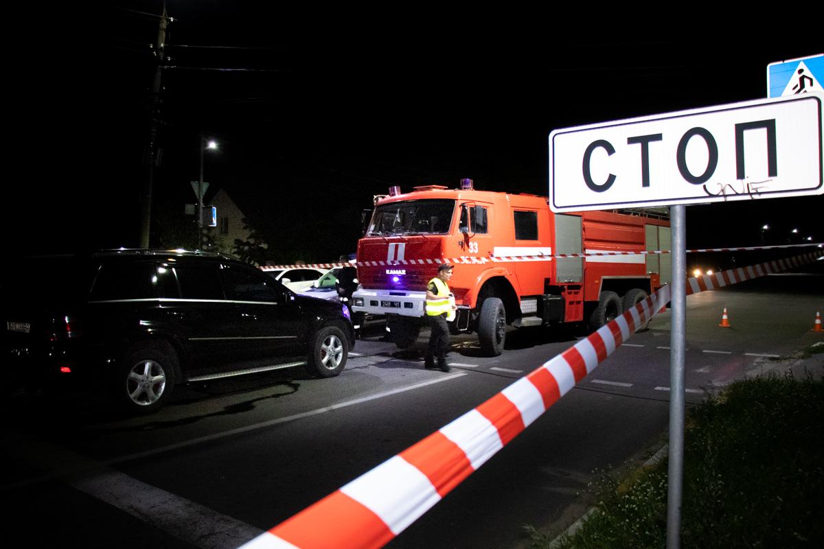 В городе Боярка под Киевом произошло ДТП со смертельным исходом