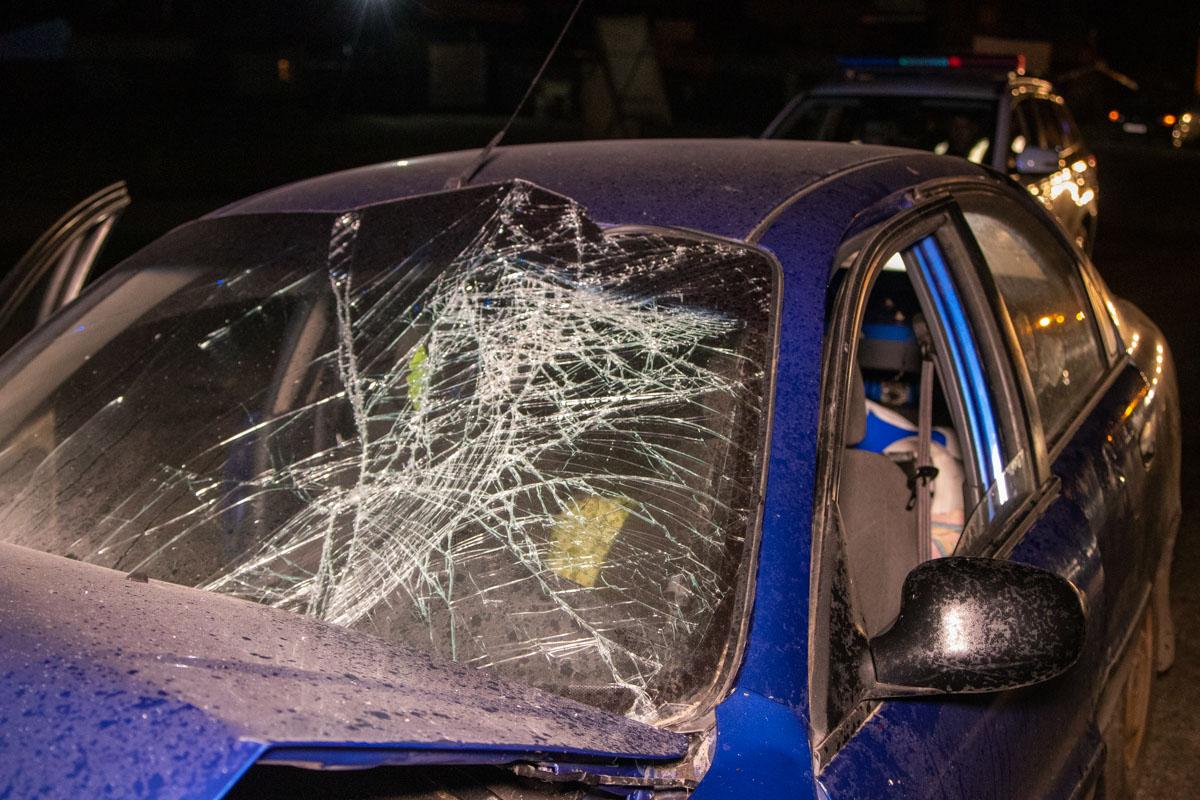 Водитель Daewoo находился в состоянии алкогольного опьянения и получил серьезные травмы
