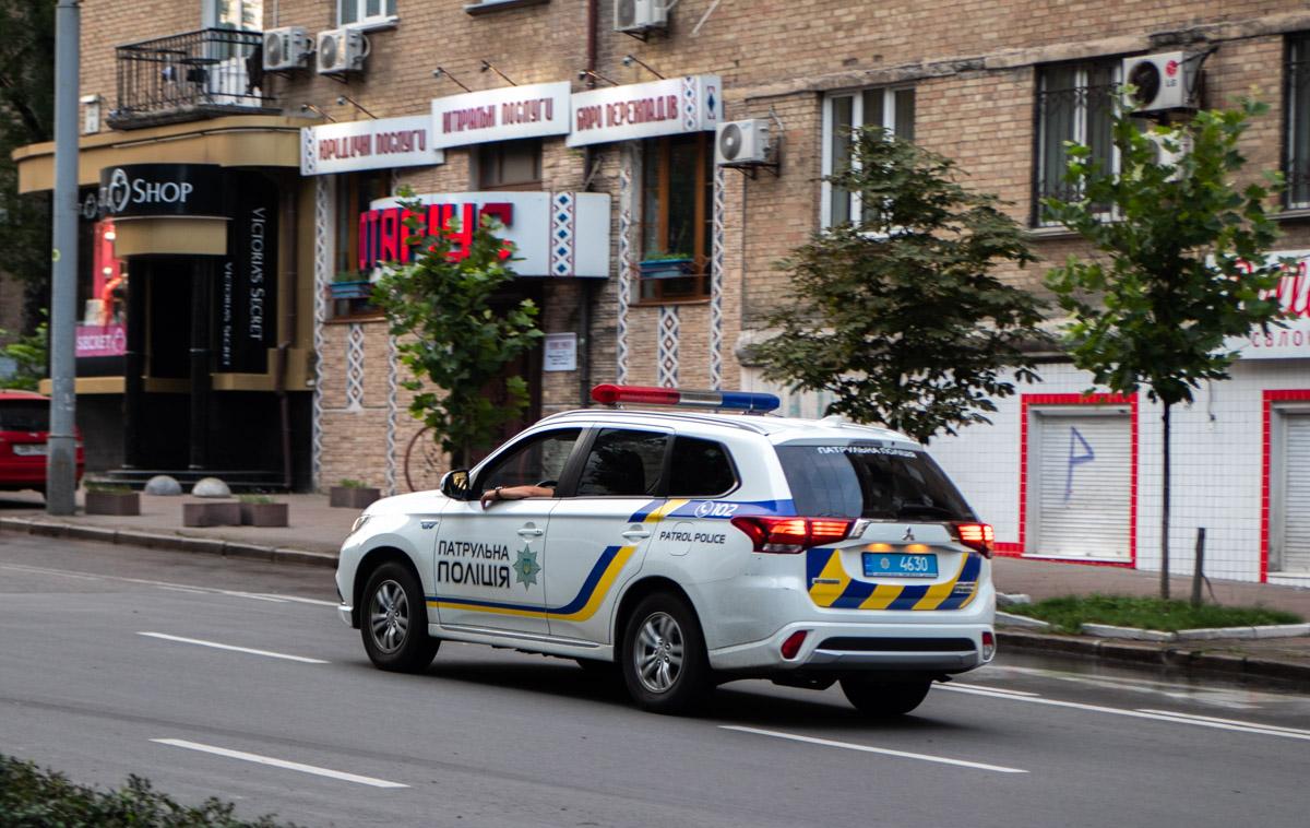"""На месте происшествия работал экипаж патрульной полиции, спасатели ГСЧС и """"скорая"""""""
