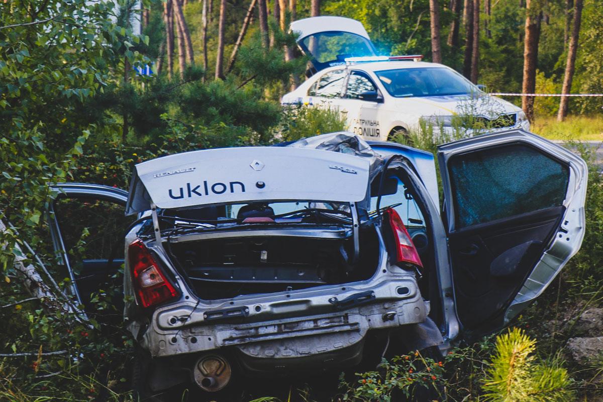 На Гостомельском шоссе произошло смертельное ДТП