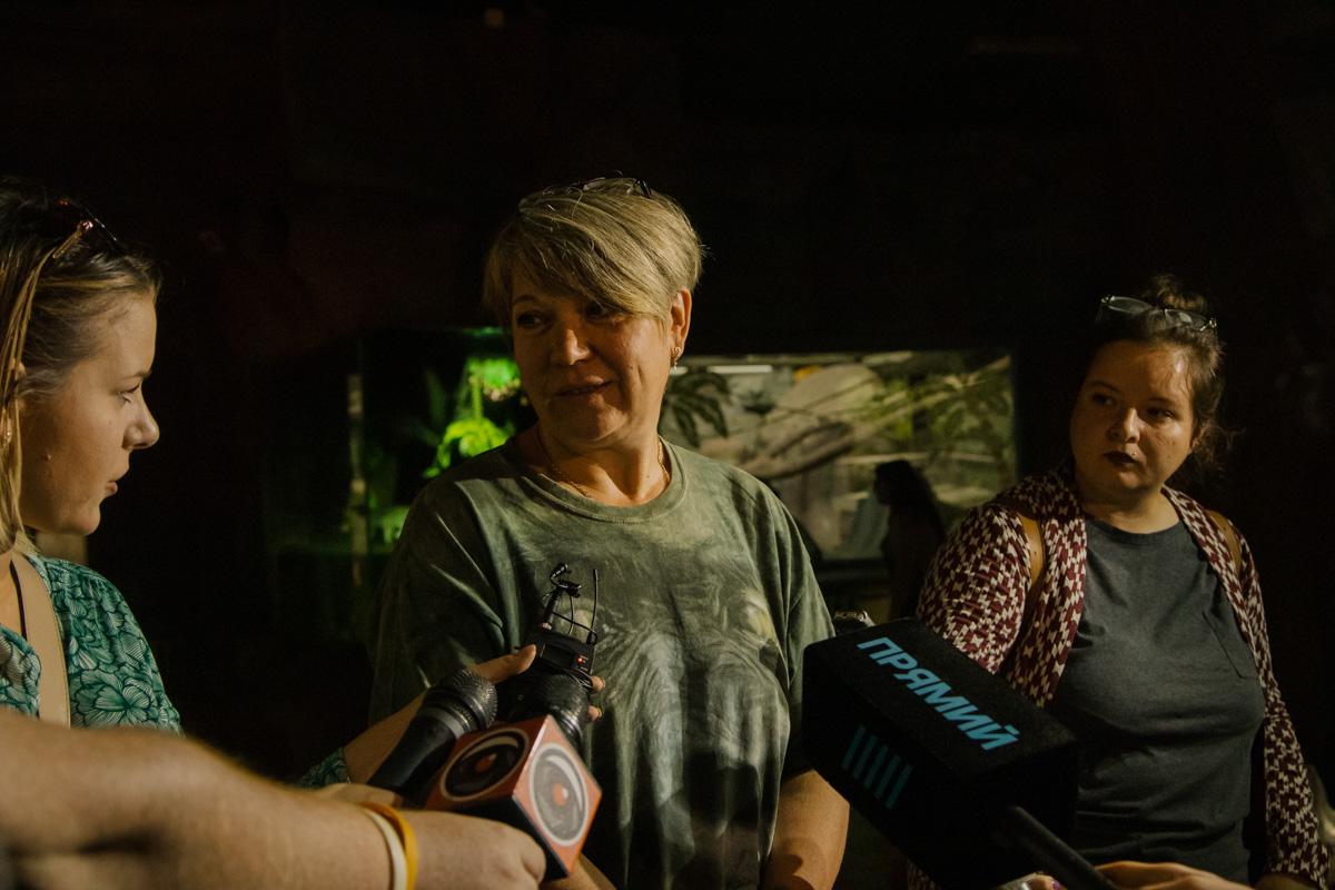 Заведующая отделом приматов Валентина Дикарева рассказала об истории появления Тони в зоопарке