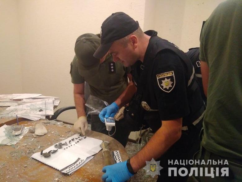 Правоохранители изъяли все следы случившегося и передали на экспертизу