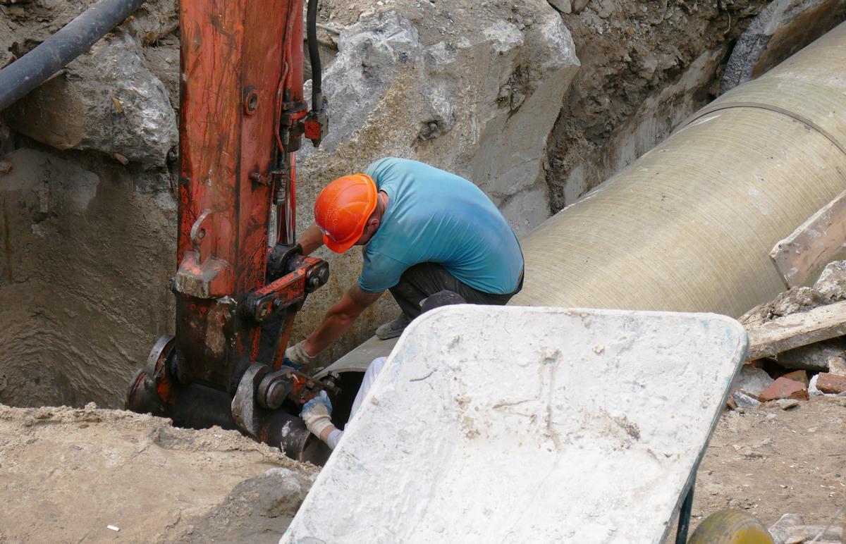 Водоснабжение жилого массива проходит в штатном режиме
