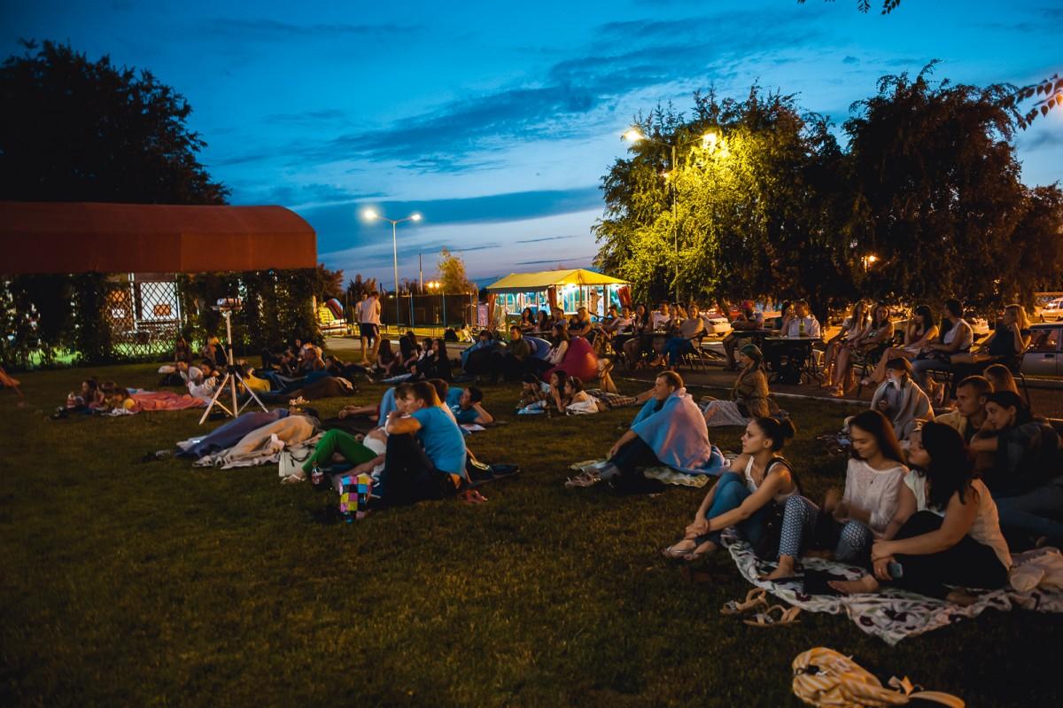 31 августа вы можете посмотреть кино под открытым небом в Киеве