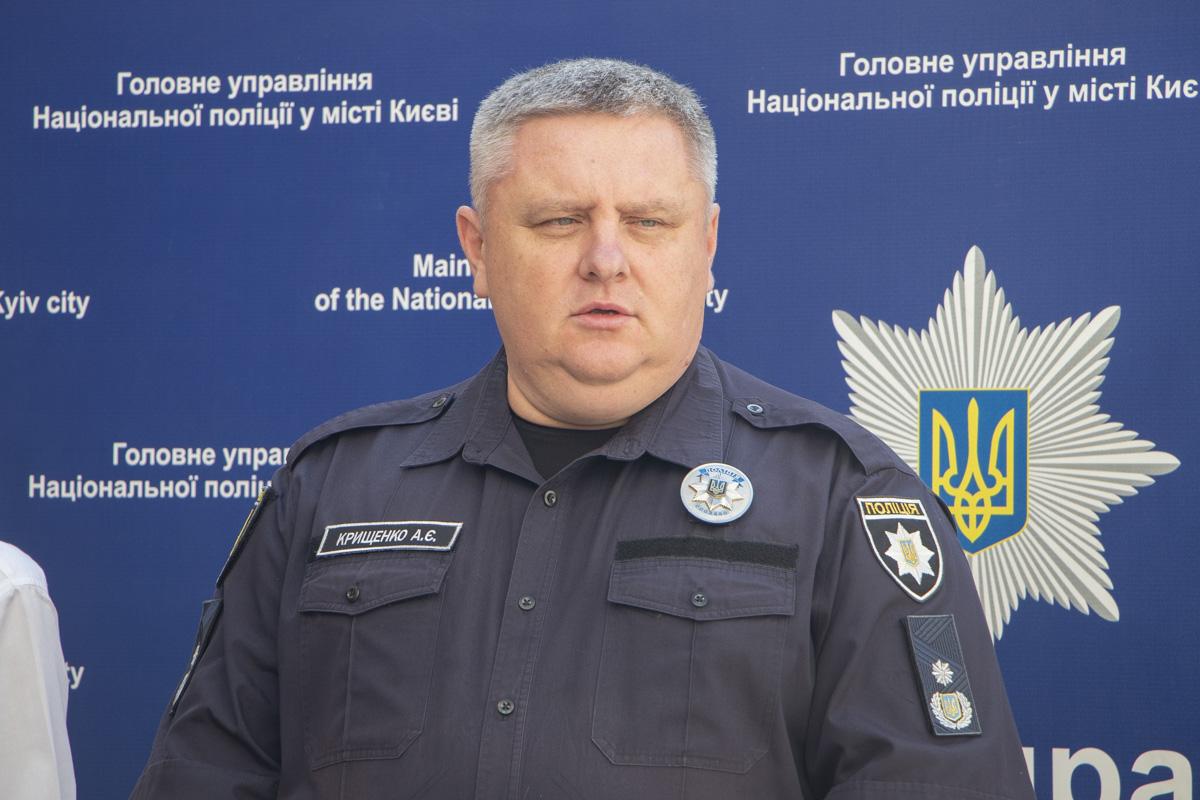 Глава Нацполиции Киева Андрей Крищенко отчитался о раскрытии резонансного убийства