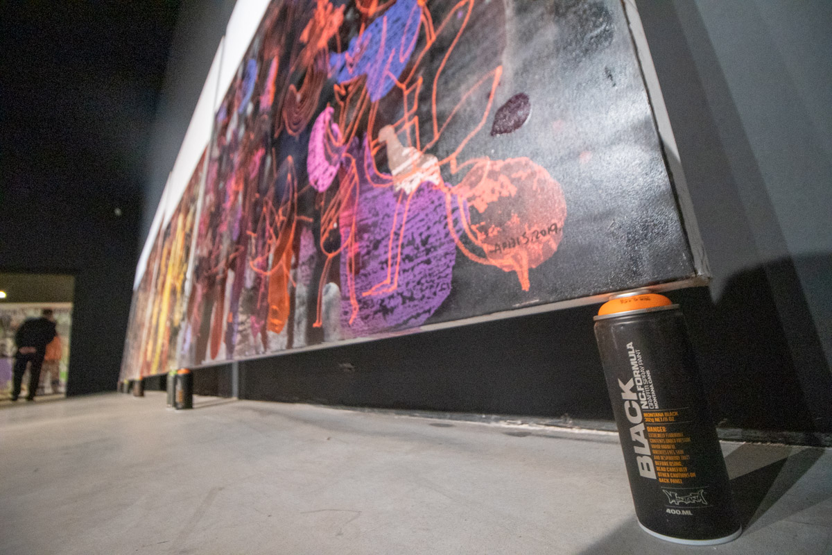Вешать картины на стены, когда есть баллончики с краской - зачем?