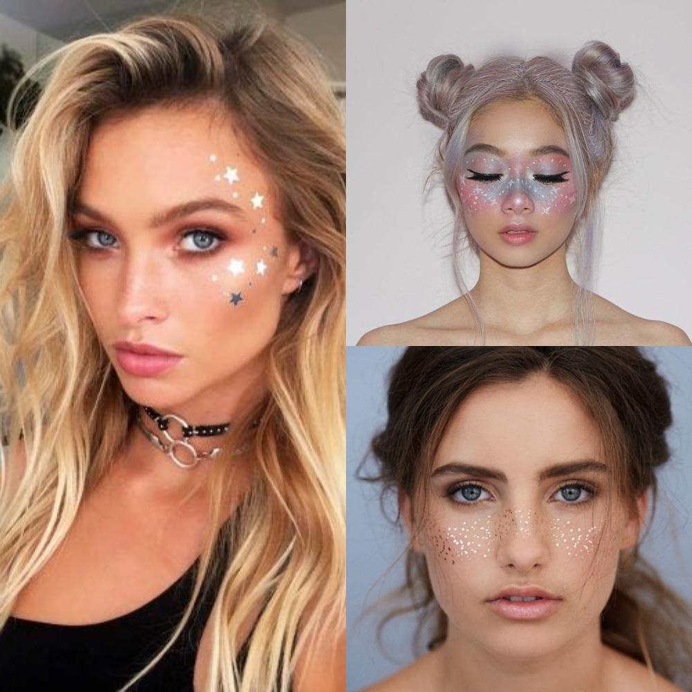 Вариации космического макияжа