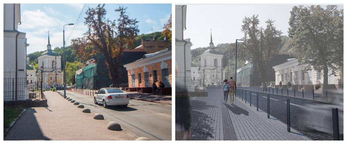 В скором времени в Киеве на Подоле займутся обновлением улицы Покровской