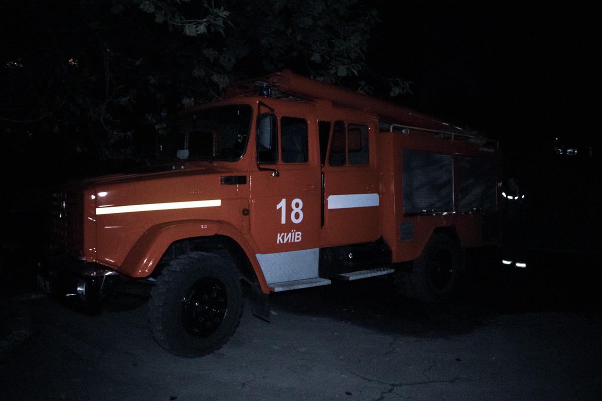 Его обнаружили спасатели после ликвидации огня