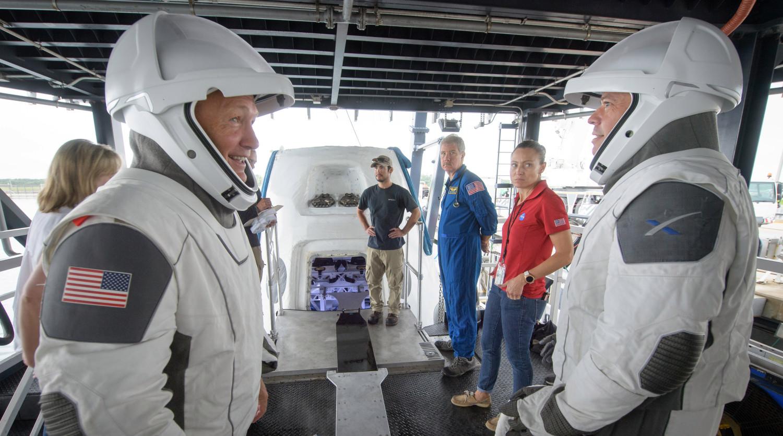 NASA и SpaceX продолжают совместную подготовку к миссиям экипажей астронавтов