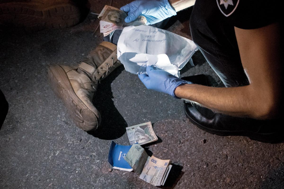 В его сумке обнаружили ворованные деньги и полсотни патронов