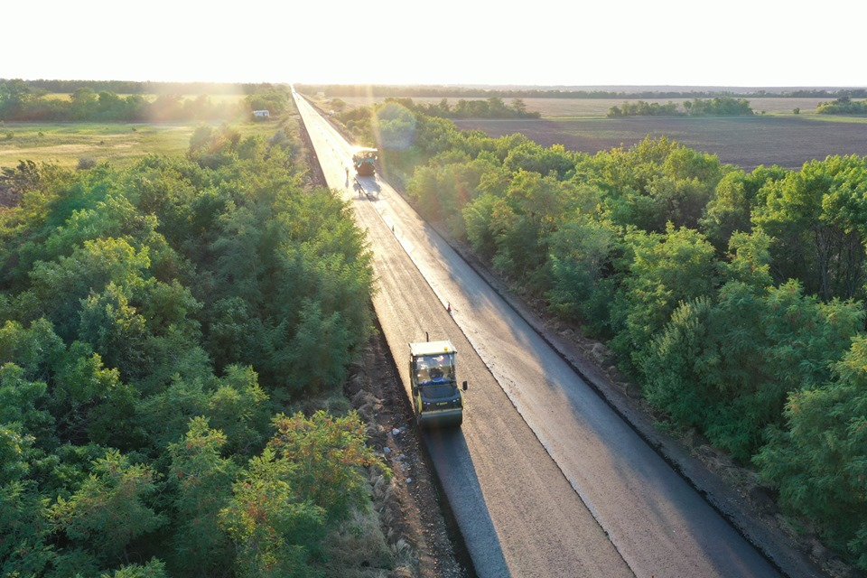 Трасса Запорожье-Мариуполь - это стратегически важная дорога