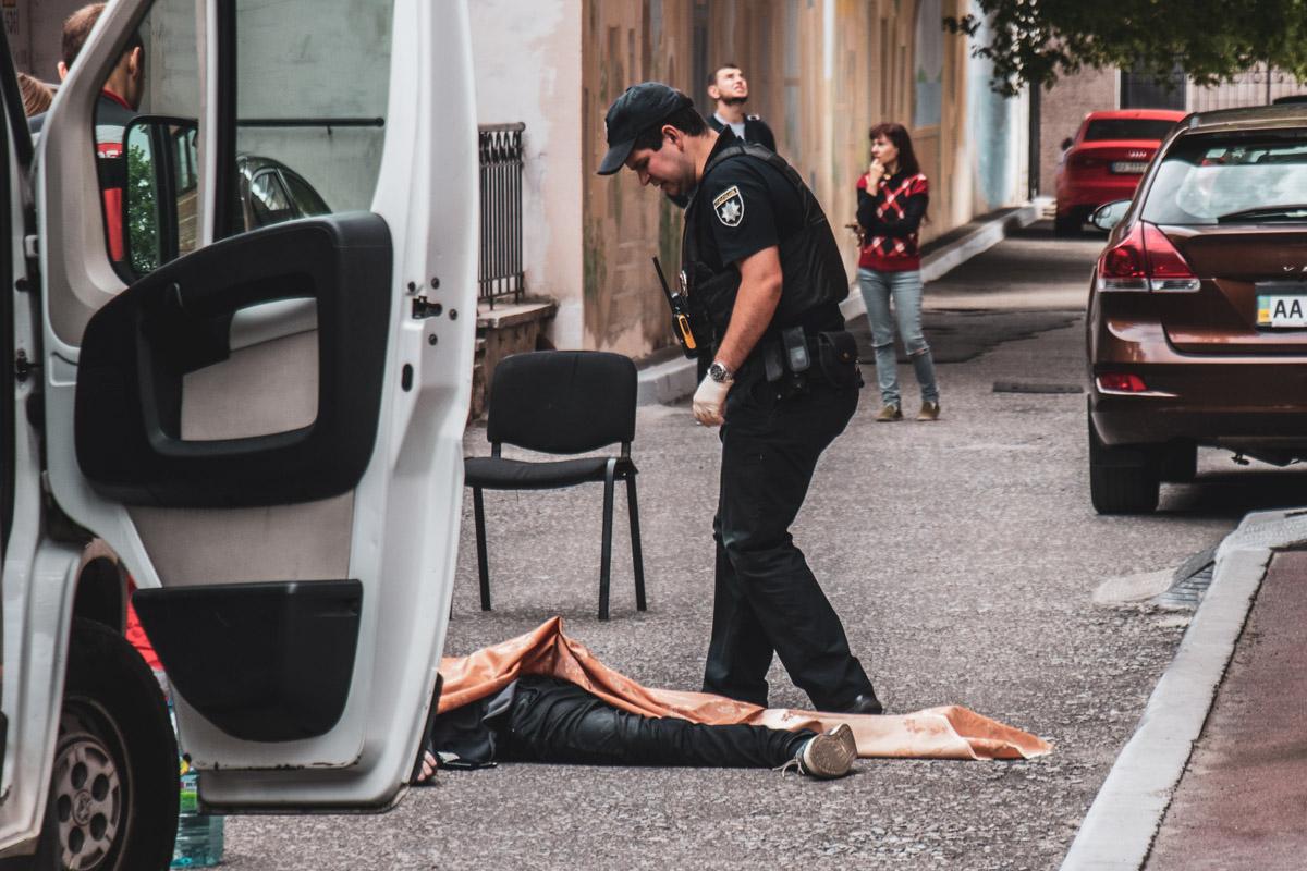 На улице Жилянской произошел трагический случай