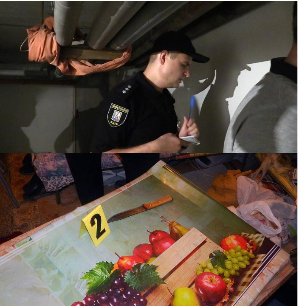 Правоохранители нашли орудие убийства и за несколько часов разыскали подозреваемого убийцу