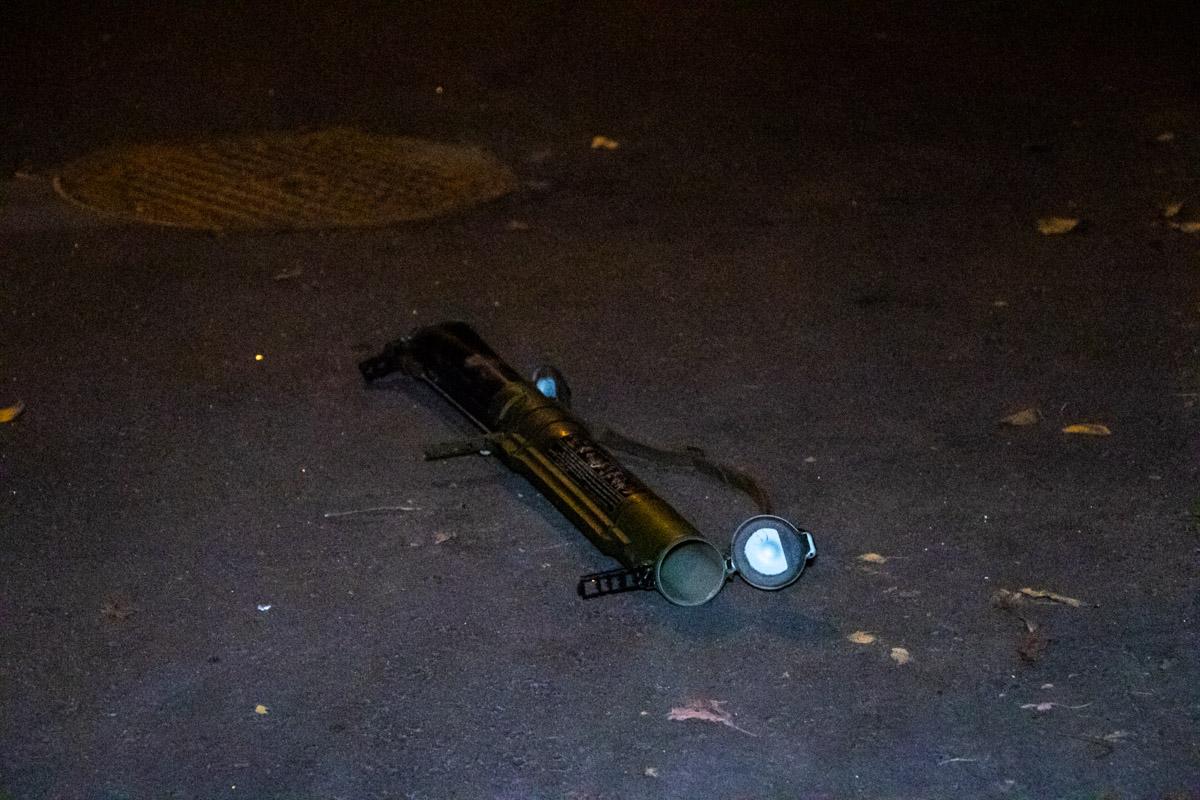 Предварительно, выстрел был произведен из гранатомета