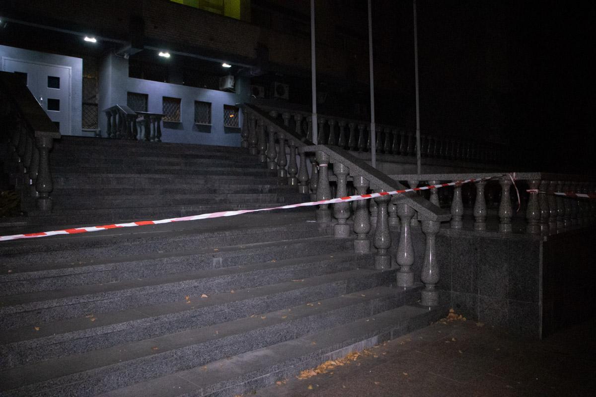 В ночь на 26 августа в центре Киева прогремел громкий взрыв