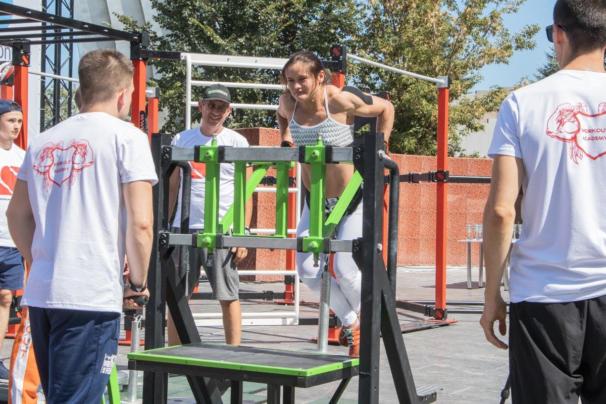 Там прошел чемпионат мира по Streetlifting и Workout рекордам, а также чемпионат Украины по Street 2019