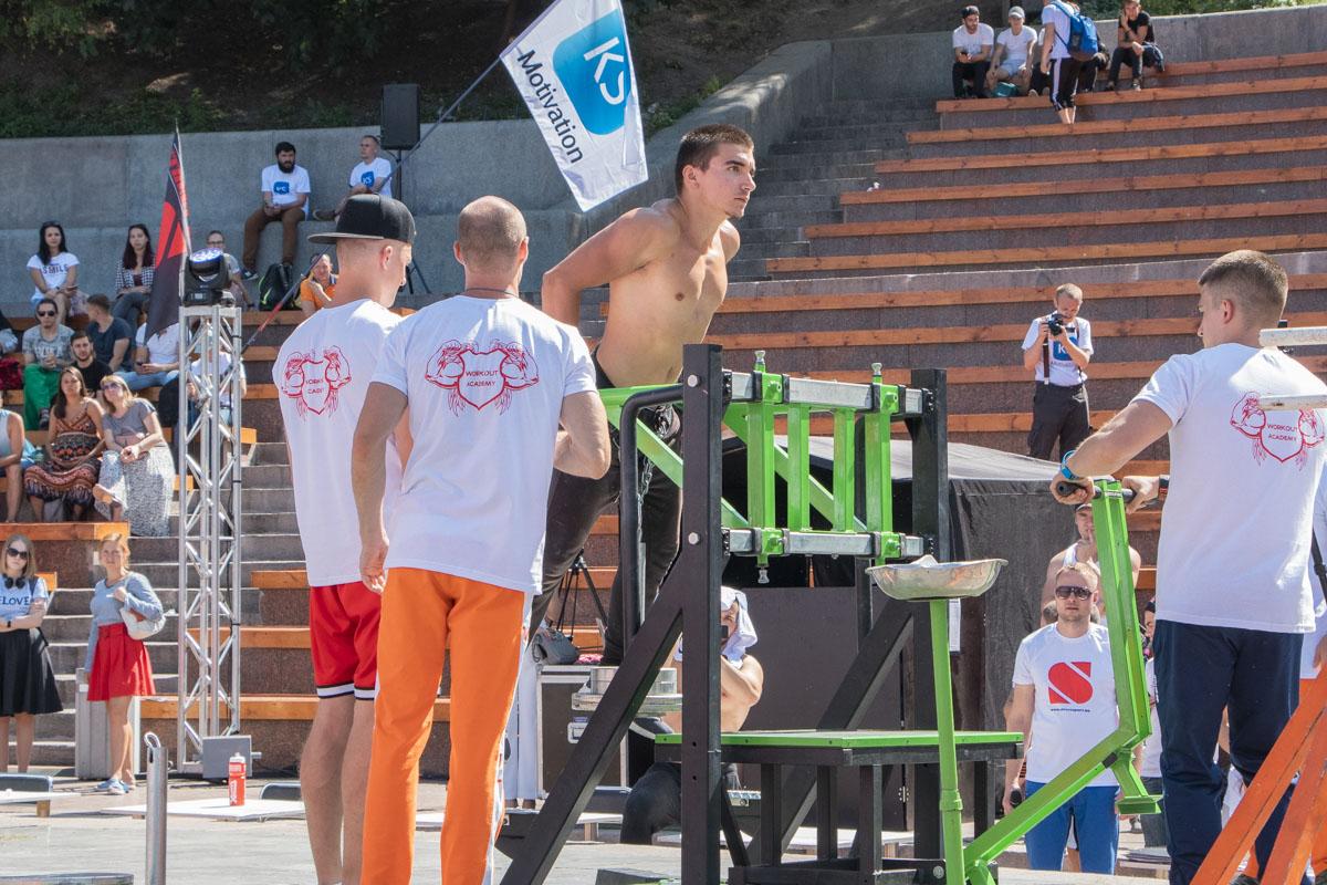 25 августа в Киеве возле Арки Дружбы народов состоялось самое масштабное спортивное событие