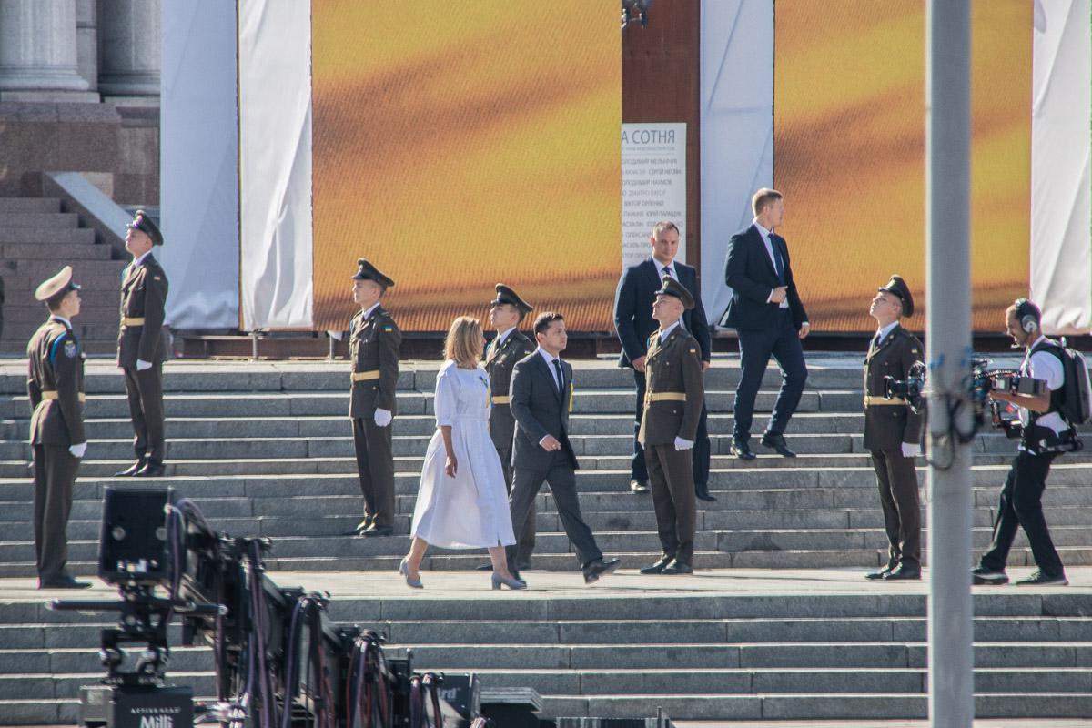 На Майдане Независимости праздник отметили Шествием достоинства