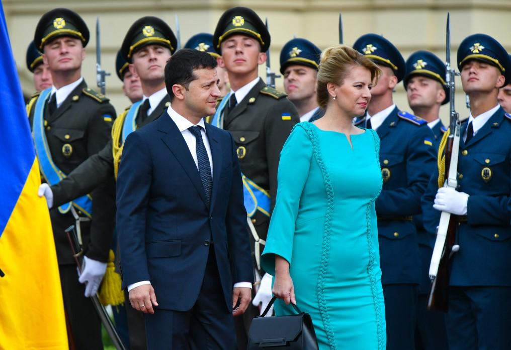 16 сентября в Киеве состоялась встреча Владимира Зеленского и Президента Словакии Зузаны Чапутовой