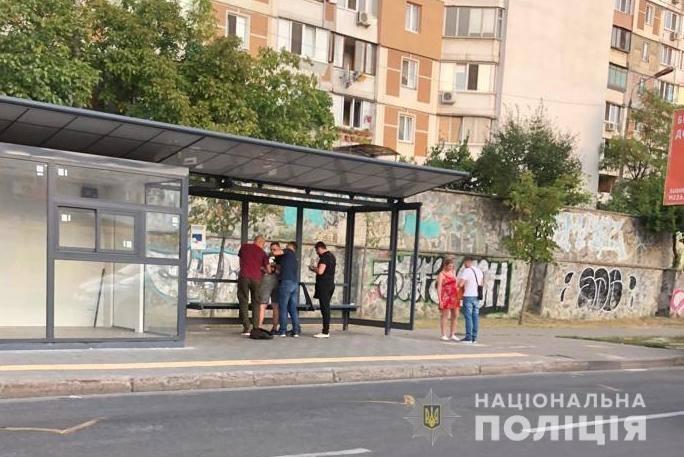 В Киеве житель столицы получил несколько ударовножом в спину
