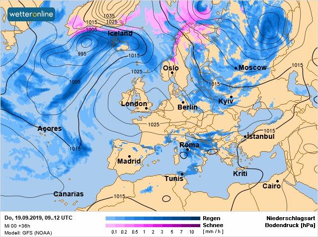С 22 сентября в Киеве ожидается потепление