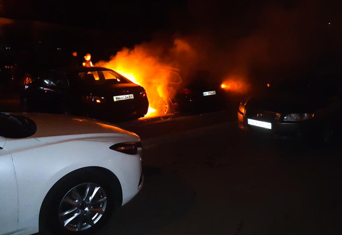 В ночь на 10 сентября в Киеве по адресу улицаСрибнокольская, 20 произошел пожар