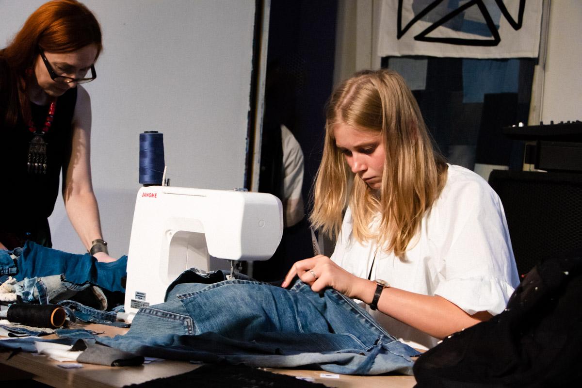 Процесс создания одежды